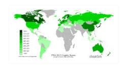 Test invalsi, la mappa dei più bravi a scuola nel mondo