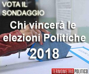 Sondaggio elezioni politiche 2018