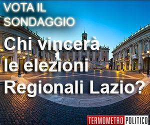 Sondaggio elezioni regionali Lazio