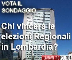 Sondaggio elezioni regionali Lombardia
