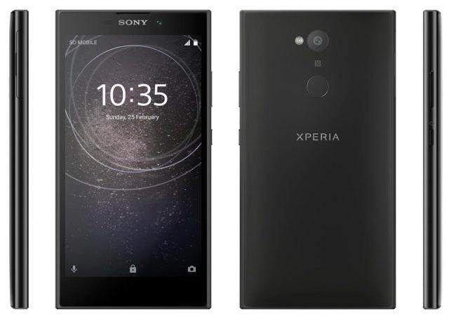 Nuovi render per i Sony Xperia XA2 Ultra, XA2 e L2