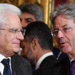 Elezioni politiche 2018: Matterella per Gentiloni candidato premier PD
