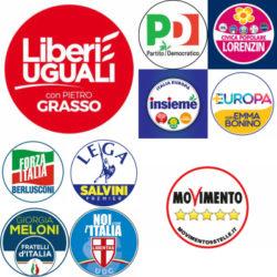 Elezioni politiche 2018: liste e candidati, ecco tutti i simboli sulla scheda