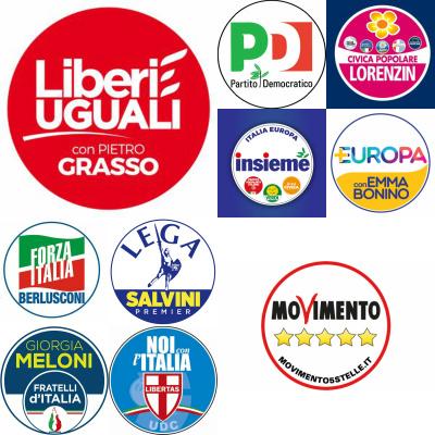 Elezioni politiche 2018 liste e candidati ecco tutti i for Lista politici italiani