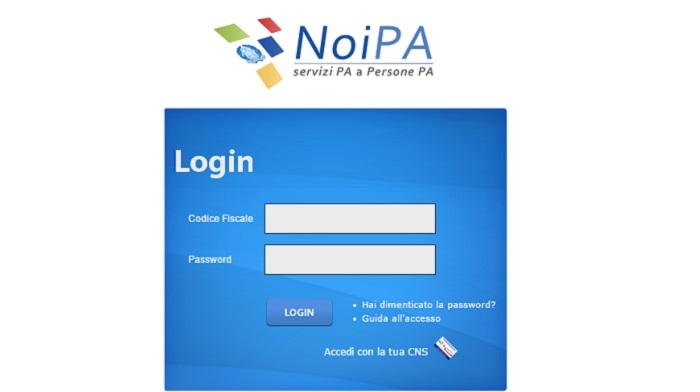 NoiPa stipendio supplenti cedolino online pagamento gennaio