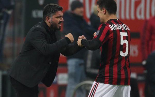 Diretta Milan-Olympiakos streaming live Europa League 2018/2019, Rino Gattuso e Jack Bonaventura