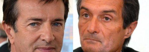 Sondaggi politici elettorali EMG: Fontana stacca Gori di 7 punti
