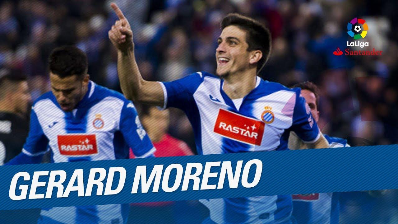 Gerard Moreno Liga spangola