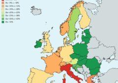 Economia Europa, nella crescita della produttività Italia ultima