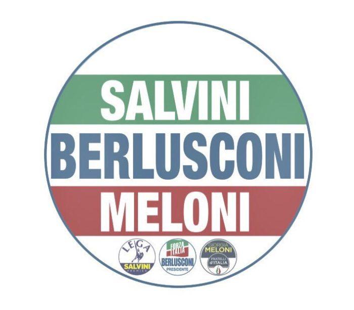 Elezioni politiche 2018: simbolo Salvini Berlusconi Meloni