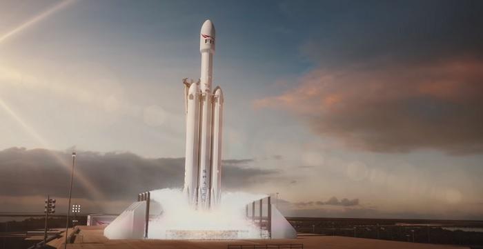 Falcon Heavy: diretta streaming live dell'evento