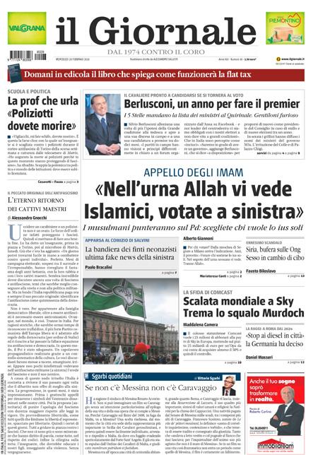 Rassegna stampa 28 febbraio 2018