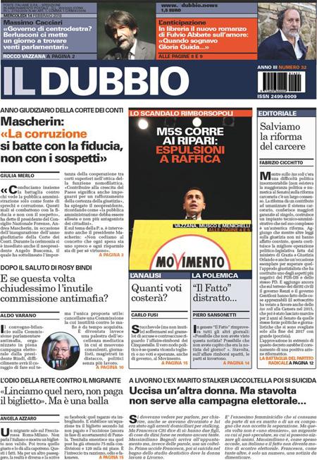 Rassegna stampa 14 febbraio 2018