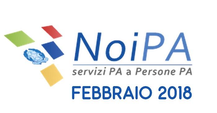 NoiPa cedolino febbraio: accredito stipendio in arrivo