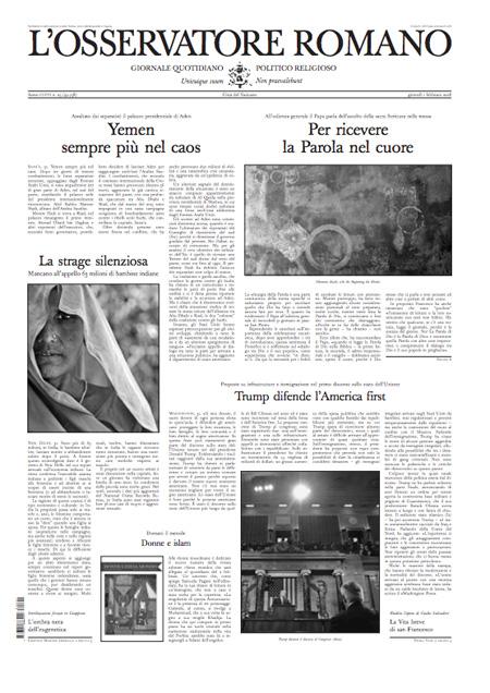 Rassegna stampa 1 febbraio 2018