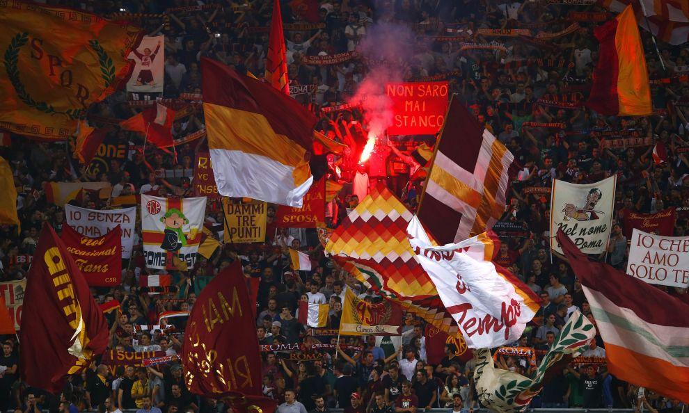 Maglia Roma Pagelle Roma-Liverpool Roma tifosi