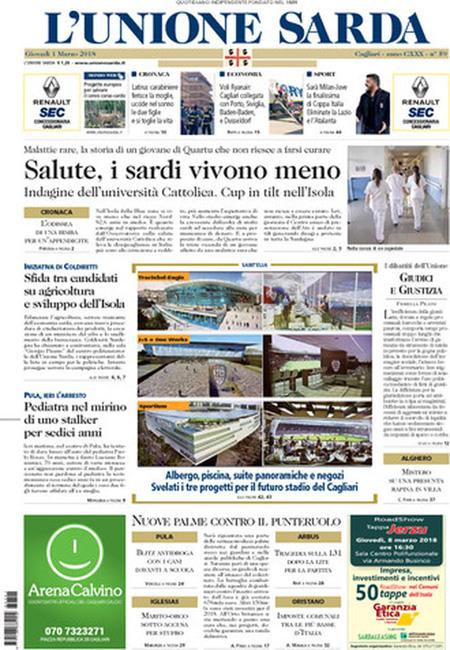 Rassegna stampa 1 marzo 2018