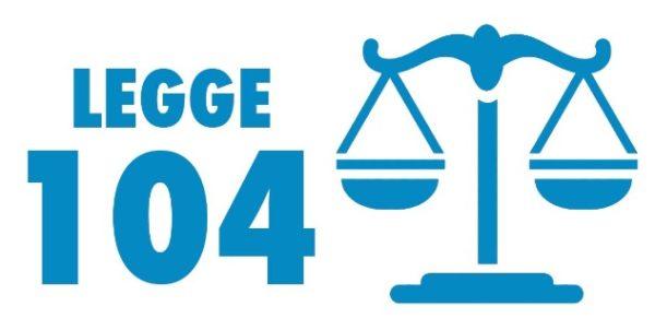 permessi legge 104 in busta paga