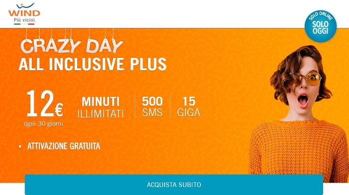 Offerte Wind mobile: 15 GB a 12 euro