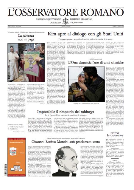Rassegna stampa 8 marzo 2018