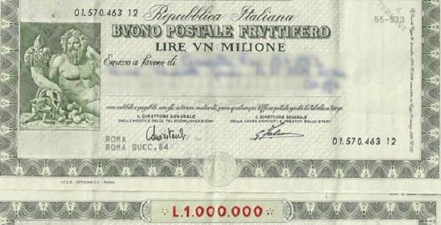 Poste Italiane: Buoni fruttiferi postali, rimborso integrale possibile