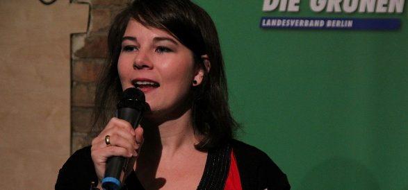sondaggi elettorali germania - la leader dei Verdi Annalena Baerbock