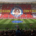 Atlético Madrid-Levante coreografía liga spagnola