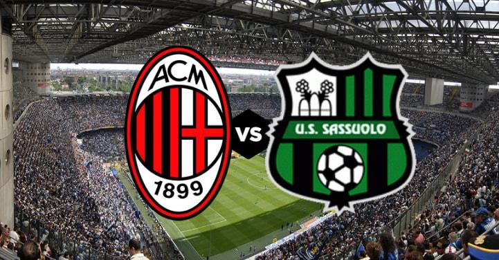 Diretta Milan-Sassuolo