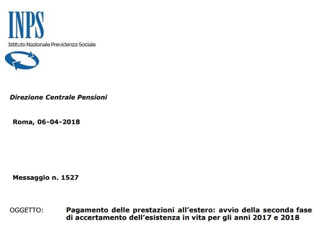 Pensioni novità 2018 assegni all'estero, i numeri dell'Inps