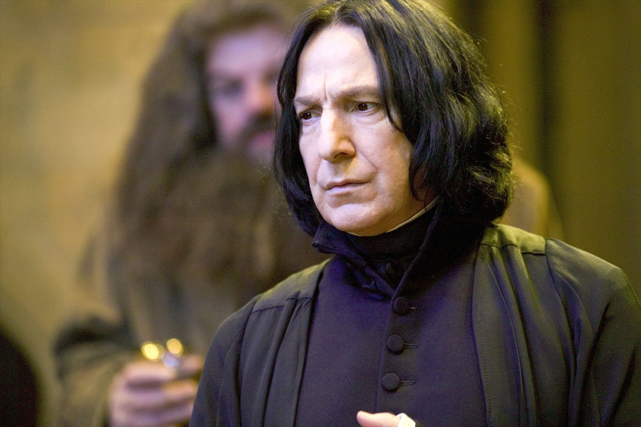 Alan Rickman Harry Potter