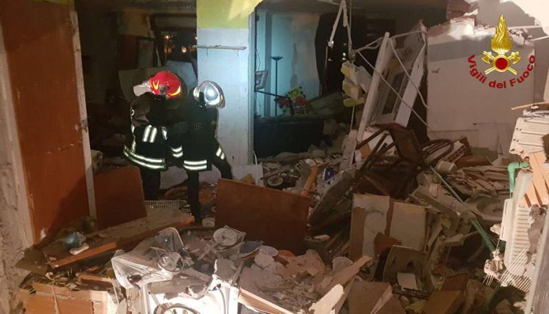 Esplosione a Crotone