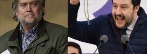 Governo 2018: incontro a breve tra Salvini e Bannon, ex stratega di Trump