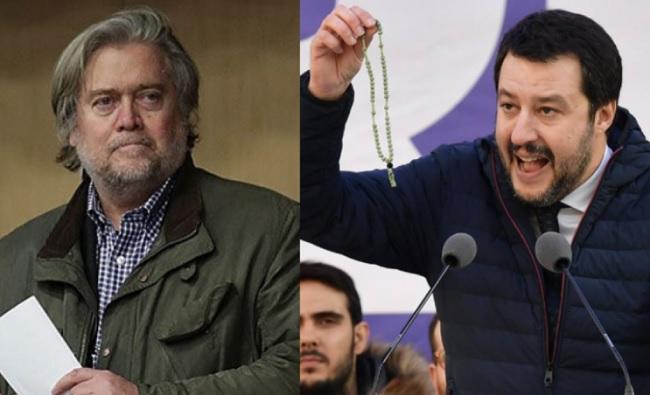 Governo 2018 incontro a breve tra Salvini e Bannon, ex stratega di Trump