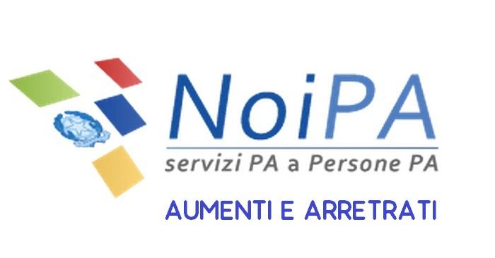 NoiPa arretrati stipendio accredito conto