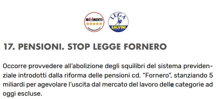 Pensioni ultime notizie: Damiano su stop riforma Fornero