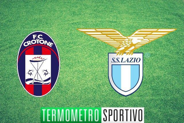 diretta Crotone-Lazio