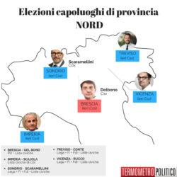 Elezioni comunali, tutti i vincitori nelle nostre infografiche