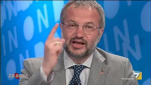 """Claudio Borghi contro l'Ue: """"procedura di infrazione è ingiusta"""""""