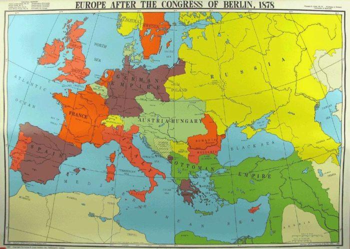 Europa dopo il congresso di berlino