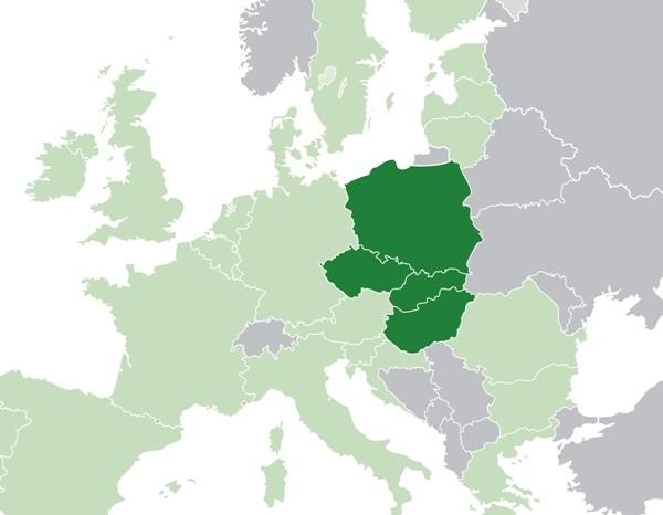 sondaggi elettorali - intenzioni di voto a luglio 2018 nei Paesi del gruppo di Visegrad