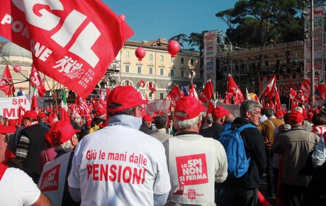 Pensioni notizie oggi Quota 100 e 41 irrilevanti cosa chiedono i sindacati