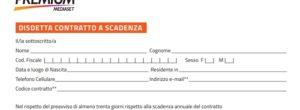 Mediaset Premium: disdetta abbonamento gratuita col modulo pdf. Come fare