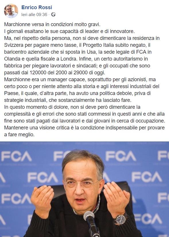 Sergio Marchionne morto bufala 2