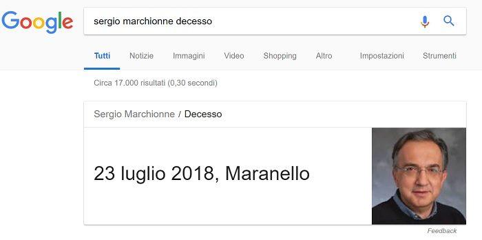 Sergio Marchionne morto bufala 6