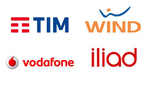 Tim, Wind e Vodafone: offerte mobile agosto 2018