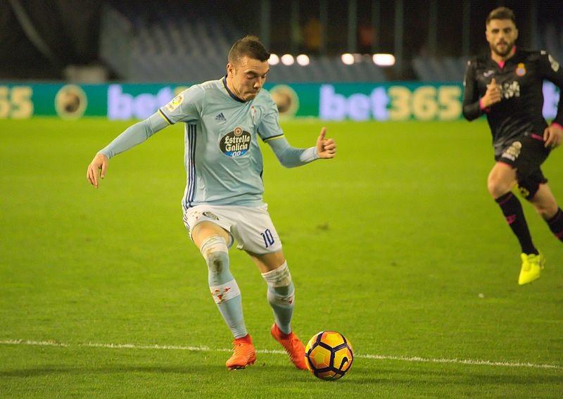 Liga spagnola 2018/2019 Celta Vigo Iago Aspas