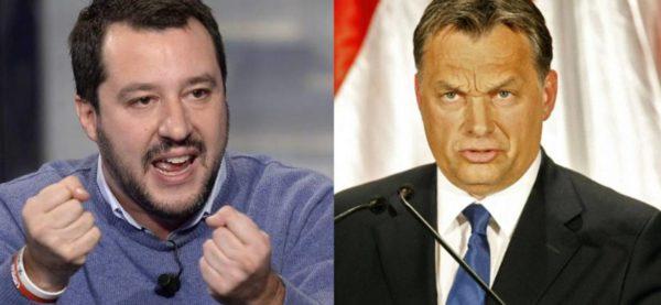Incontro Orban-Salvini