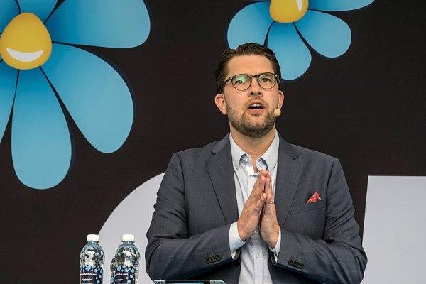 Sondaggi elettorali Svezia - Jimmie Akesson, leader dei Democratici Svedesi