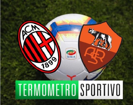 Milan-Roma Serie A 2018-2019 quote e pronostici
