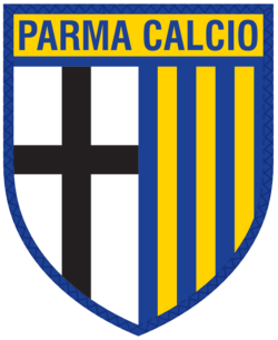 Parma logo serie A 2018/2019